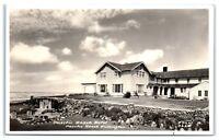 RPPC Pacific Beach Hotel, Pacific Beach, WA Real Photo Postcard c. 1939-1950