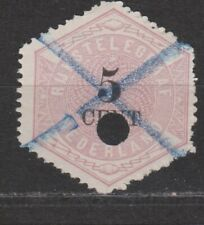 TG3 Telegram 3 used NVPH Nederland Netherlands Pays Bas 1877