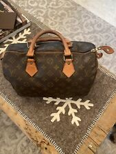 Authentic Vintage LOUIS VUITTON Speedy 30 Bag Monogram US SELLER