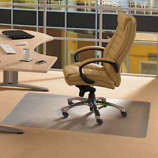 Office Desk Chair Mat for Carpet 46x60 Inch Low Pile Computer Clear Protector