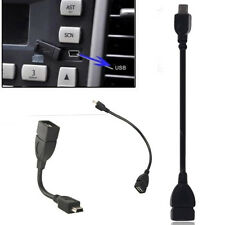 A Female to B Male Converter OTG Adapter Cable Mini USB 2.0 for GPS Car Music