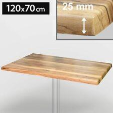 WERZALIT Bistro Tischplatte | 120x70cm | Eiche  | Topalit Hpl Compact Kompakt Ga