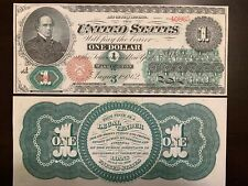 Reproduction $1 Bill United States Note 1862 Salmon Chase USA Currency Copy