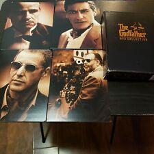 The Godfather DVD Collection (DVD, 2001, 5-Disc Set, Sensormatic) Marlon Brando