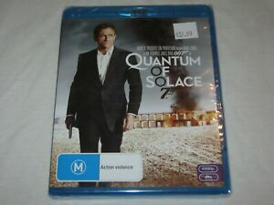 007 - Quantum Of Solace - Brand New & Sealed - Region B - Blu Ray