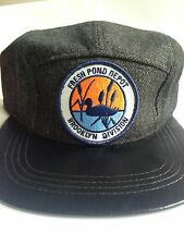 MTA Bus Patch New York Brooklyn Fresh Pond Camper Hat Adjustable