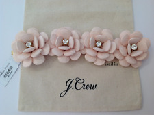 J.Crew Beaded Rose Bracelet NWT AUTHENTIC With Pouch
