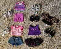 Build A Bear Workshop Clothing Shoes Outfits Accessories HUGE BABW 18 PIECE LOT!
