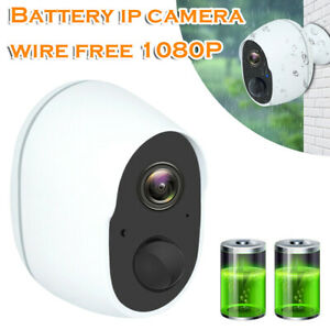 Wireless 1080P HD WiFi Outdoor IP Camera Security CCTV Battery Waterproof IR Cam
