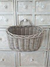 Wicker rattan tray basket storage deco modern country wall display basket SECOND