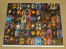 KISS PHONE CARD UNCUT PRESS SHEET SEALED