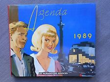 CHALAND AGENDA 1989 HUMANOÏDES ASSOCIES ETAT NEUF