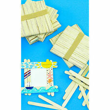 Wooden Lollipop Sticks X 100 (11cm) Arts & Crafts Traditional lolly sticks