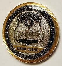 "USSS US Secret Service Police Uniformed Division Crime Scene Search Unit 1.75"""