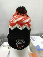 DC United Adidas Winter Hat Pom-Pom MLS Soccer
