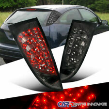 Ford 00-06 Focus 3/5Dr Hatchback Smoke LED Tail Lights Tinted Brake Lamps Pair