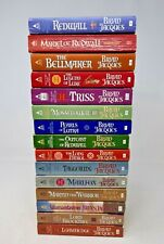 Brian Jacques Redwall Series Lot of 15 Small Paperback Books