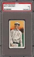 1909-11 T206 Billy Maloney Piedmont 350 Rochester PSA 3 VG