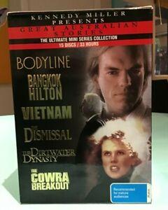 Kennedy Miller Box Set Bodyline Bangkok Hilton Vietnam Dirtwater Dynasty Cowra