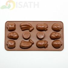 Fruit Silicone Soap mold Candy Chocolate Fondant Tray ICE Cube