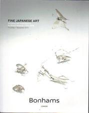 BONHAMS Japanese Netsuke Swords Armour Lacquer Ivory Ceramics Bronze Catalog 13