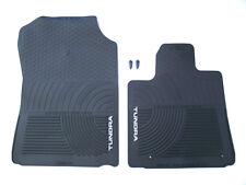 Brand New 2007-2012 OEM Toyota Tundra All Season Black Rubber Floor Mats Carpet