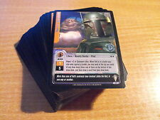 STAR WARS JEDI KNIGHTS SCUM AND VILLAINY SILVER FOIL COMPLETE SET