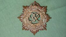 MILITARY PIN BRITISH ARMY WWII BRASS CAP BADGE RASC ROYAL ARMY SERVICE CORPS