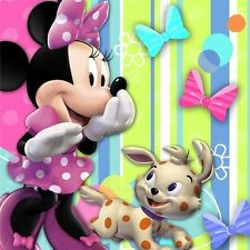 Minnie Mouse  Party Supplies Small  Beverage Napkins