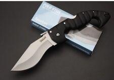 New Cold Steel Spartan Folding Taschenmesser mit glatter Schneide Camping Jagd