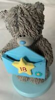 ME TO YOU Tatty Teddy HAPPY 18th BIRTHDAY Figurine Used But In Good Condition