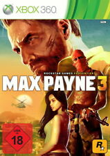 XBOX360 AB18! Max Payne 3 VON ROCKSTAR GAMES -*KNALLHARTE BALLERORGIE*