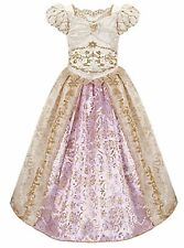 Disney Store Exclusive Tangled Princess Rapunzel Wedding Costume Dress Size 5/6