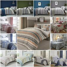 Dreams n Drapes Striped, Checked OR Patchwork Duvet Quilt Cover Bedding Bed Sets