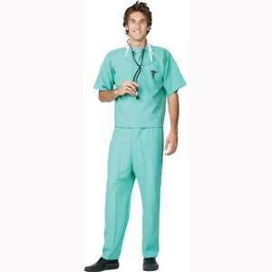 Emergency Room Doctor Surgeon Halloween Adult Costume One Size Fits Most New