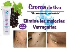 ELIMINATES WARTS IN 1 WEEK /CREMA PARA ELIMINAR VERRUGAS! INGREDIENTES NATURALES
