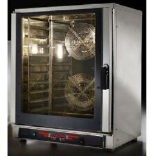 Forno a convezione e vapore a 10 teglie GN1/1 o 60x40 +10 teglie baguette