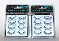 ARDELL #110 Multipack False Eyelashes Fake Eye Lashes, Two packs (8 Pairs)