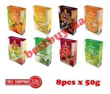 Al Fakher Hookah Shisha Molasses Flavor Tobacco 8x50g
