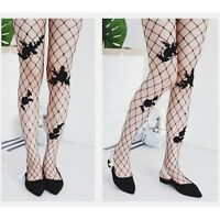 Sexy Women Lace Fishnet Pantyhose Flower Black White Floral Tights Pantyhose