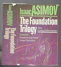 Isaac Asimov • The Foundation Trilogy (1982, Hardcover, BCE)