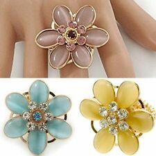 Glass Statement Costume Rings