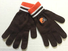 NFL Cleveland Browns Winter Knit Gloves NEW!