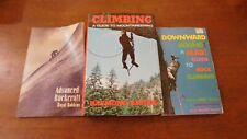 Advanced Rockcraft and other climbing books 3 total