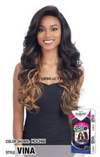 FREETRESS EQUAL SYNTHETIC 5 INCH LACE PART VOLUME LONG CURLY STYLE HAIR WIG VINA