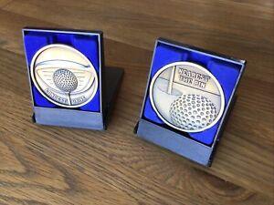 Longest Drive Golf Medal 70mm In Presentation Box