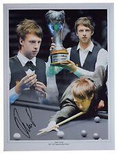 Judd Trump Signed autograph 16x12 HUGE photo Snooker Sport AFTAL Memorabilia COA