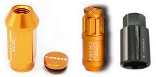 NRG Innovations 700 Series Lug Nuts (#LN-710RG) incl. lock nuts and lock key.