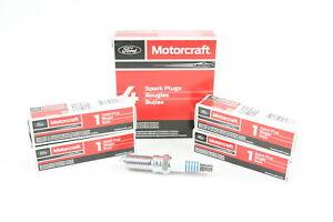 Set of 4 Genuine OEM Motorcraft SP520 Spark Plugs Ford CYFS12F5 New