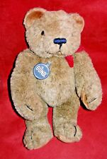 """1983 Gund Collectors Classic Limited Edition Brown Jointed Teddy Bear 12"""" w/Tag"""